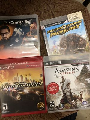 Four PS3 games for Sale in Bothell, WA