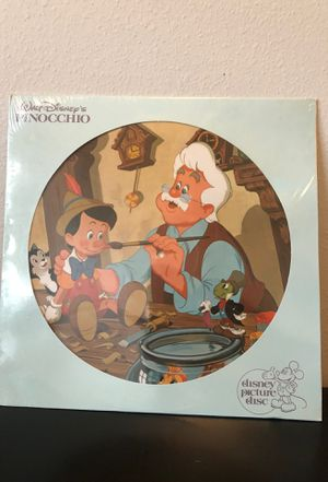 Disney's Pinocchio picture disc for Sale in Hudson, FL