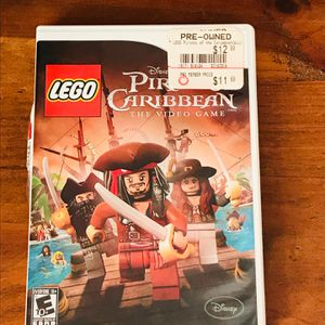 Nintendo Wii LEGO Pirates Of The Caribbean Video Game for Sale in Houston, TX