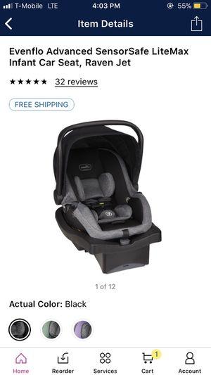 Evenflo infant car seat $50 for Sale in Las Vegas, NV