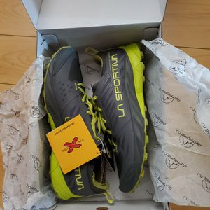 Lasportiva, rugged trail running shoes, kaptiva gtx, carbon/citrus color. for Sale in Union City, CA