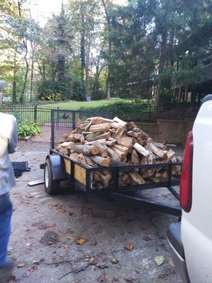 Seaeoned firewood 225 cord 1t0 half for Sale in Powder Springs, GA