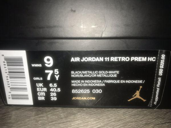 Air Jordan 11 Retro Premium GS 'Heiress'