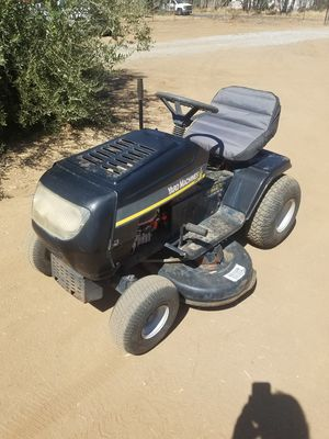 "Yard machines mtd 17.5hp 42"" deck riding lawnmower lawn mower for Sale in Perris, CA"