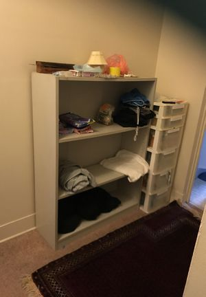 Solid bookshelve - All needs to go today, October 24 - Located in Norfolk for Sale in Norfolk, VA