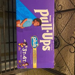 Huggies Pull Ups Plus 3T-4T 116 Count $30 for Sale in Santa Ana,  CA