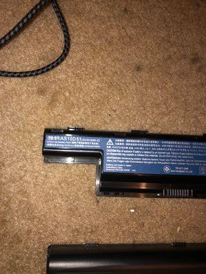 2 laptop batteries for Sale in Winston-Salem, NC