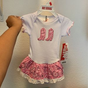 Cowgirl Tutu Onesie For Baby for Sale in Austin, TX