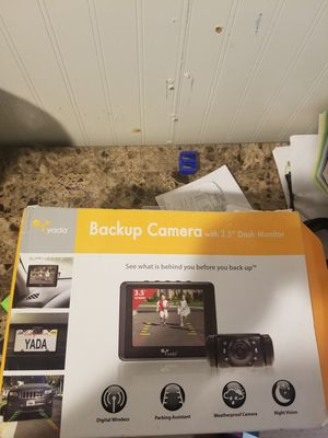 Backup Camera with Digital Camera for Sale in Meriden, CT