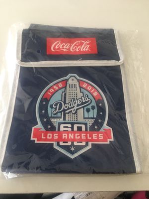 Dodgers 60th Anniversary lunch bag (new in plastic) for Sale in Los Angeles, CA