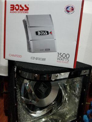 Amplificador y bosinas todo for Sale in San Francisco, CA