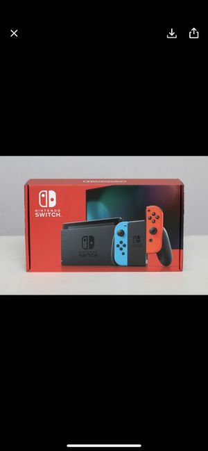 Nintendo switch v2 red blue neon new for Sale in Norwalk, CA