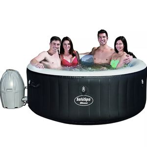 NEW Bestway SaluSpa Miami Inflatable Hot Tub | 4-Person AirJet Spa for Sale in Los Angeles, CA