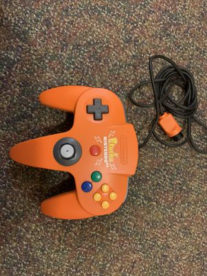 Orange pikachu N64 controller for Sale in Hampton, VA