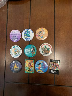 Disney - Button/Pins - Bag #13 for Sale in Davenport, FL