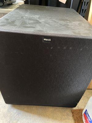 Klipsch SW-115 Subwoofer 400W Continuous/800W Peak BASH Digital Hybrid Amplifier for Sale in Fort Lauderdale, FL