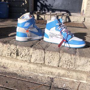 Off White Jordan 1 University Blue for Sale in Marietta, GA