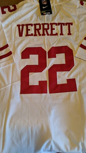 New jason verrett xl 49ers jersey for Sale in Tucson, AZ