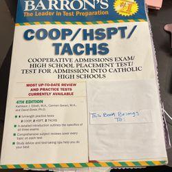 Barron's COOP/HSPT/TACHS by Carmen Geraci, Kathleen Elliott and David Ebner... for Sale in Richton Park,  IL