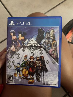 PS4 kingdom hearts HD 2•8 final chapter prologue game for Sale in Miami, FL