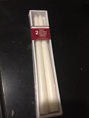 White candles for Sale in Quincy, IL