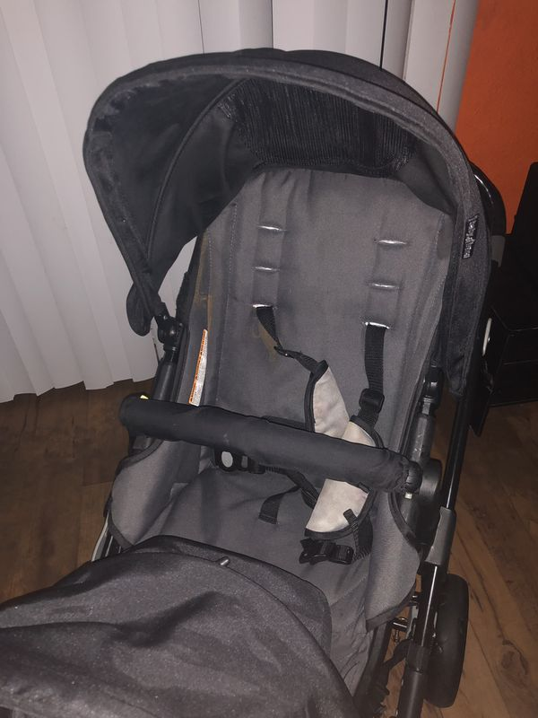 Baby trend sit n stand snap gear double stroller - tungsten