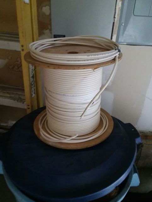 Spool of cable wire
