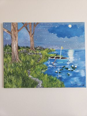 Acrylic Painting Canvas Art- Wall Decor for Sale in Oregon City, OR