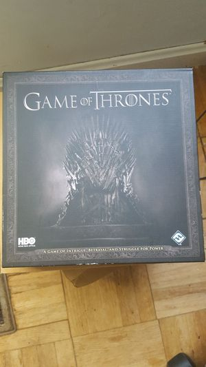Game of Thrones Board Game 2012 for Sale in Bowie, MD