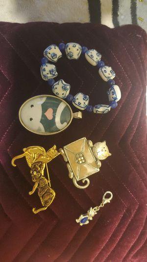 Cat Lovers Jewelry Lot for Sale in El Cajon, CA
