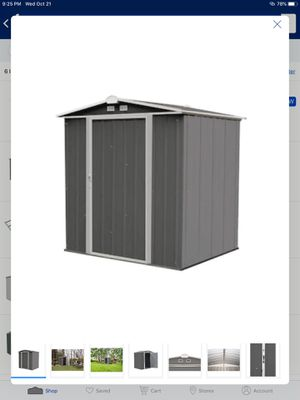 Arrow Ezee Shed Galvanized Steel Storage Shed for Sale in Greenville, SC