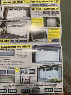 Garage Door (open box) for Sale in San Bernardino, CA