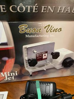 Buon vino Mini Jet + Fruit Wine Filter - Used Just Once for Sale in Vancouver,  WA
