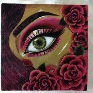 "Black Girl Magic ""Romance"" Mua painting for Sale in Orlando, FL"
