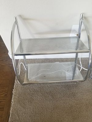 Two Metal Shelves. Great Condition. $10for both. for Sale in Colorado Springs, CO