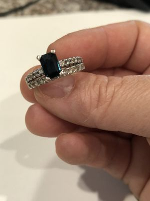 Sapphire wedding ring for Sale in Surprise, AZ