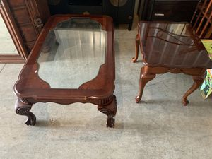 Coffee Table & 1 End Table for Sale in Chesapeake, VA