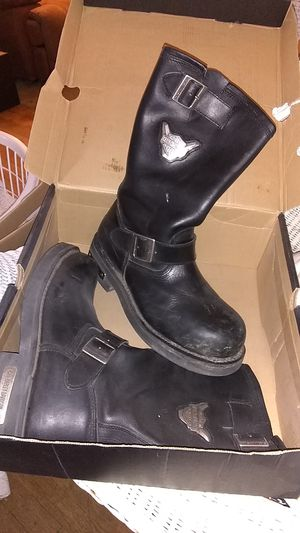 Harley Davidson riding boots for Sale in San Angelo, TX