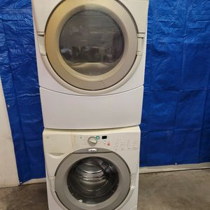 Whirlpool Washer And Electric Dryer Set Good Working Condition Set For $329 for Sale in Wheat Ridge, CO