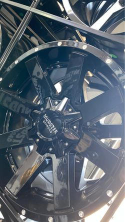 Mudster off road 20x9 8x180 rims with tires full package for Sale in Madison Heights,  MI