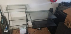Glass top,metal framed, computer desk for Sale in Escondido, CA