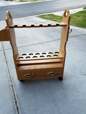 FISHING POLE HOLDER for Sale in Las Vegas, NV