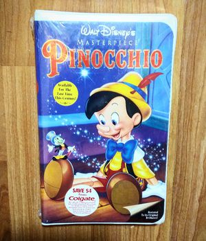 Brand New and Sealed, Walt Disney's Masterpiece, Pinocchio VHS for Sale in Douglasville, GA