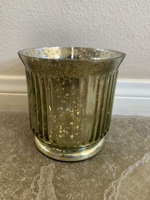 Glass Round Decorative Container with speckles for Sale in Laguna Niguel, CA