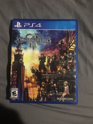 Kingdom hearts 3 for play station 4. for Sale in Miami, FL