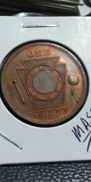 Mason token... Philadelphia PA.. for Sale, used for sale  Pleasantville, IA