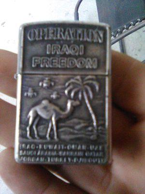 RARE Operation Iraqi Freedom Zippo® for Sale in Pensacola, FL
