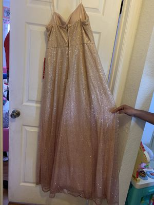 Good/pink prom dress for Sale in Winter Haven, FL