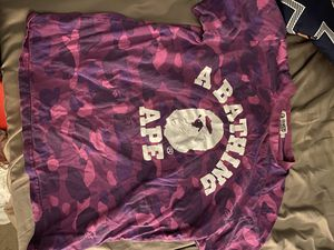 Purple Bape Shirt for Sale in San Jacinto, CA