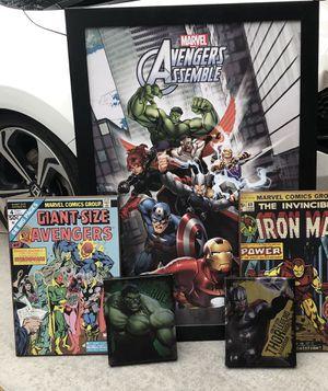 Marvel lot!! Largest pic is 48x26 for Sale in Sahuarita, AZ